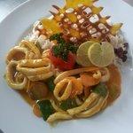 calamar à la provençale