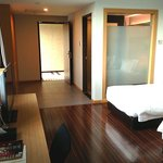 Spacious and clean standard suite (twin).