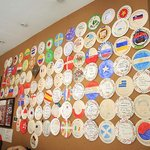 Wall of the Plates! I left my one as well