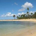 Poipu Beach in front of resort