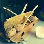 Bread basket which we got twice!!