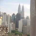 view from my room KL Towers yeaahh :)