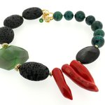 Bizermani Lava Necklace