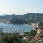 Golfo dei Poeti and Hotel view