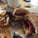 heafty sandwich