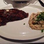 20oz Steak with Scallion Mashed Potatoes