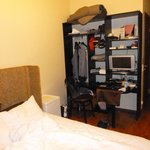 Very small room...