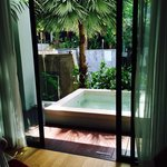 Private Jacuzzi(one bedroom Deluxe Suite)