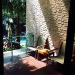Balcony(One bedroom Deluxe Suite)