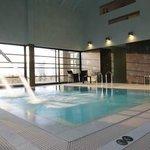 Una piscina con idromassaggio fantastica