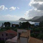 Vista terrazza su Cefalù