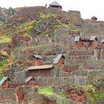Mountain-top ruins