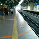 Mid Valley KMT station, hot and not well ventilated