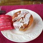 Nothing like a fresh baked cinnamon bun!