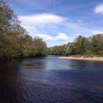 Try your hand at fishing for Salmon, Sea Troot & Broonies at the end of the garden ��