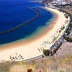 playa après Santa Cruz de Tenerife.