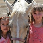 Chaparral has many gentle, friednly horses. Great place for kids' riding!
