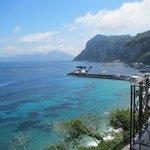 View of Marina Grande from balcony