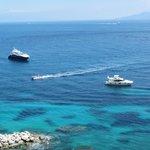 View from Balcony at Capri Inn