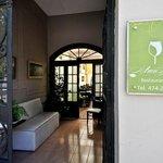 La entrada de Alma Belén, en Baigorrí 644 de barrio Alta Córdoba