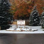 Late fall shot of Holiday Park