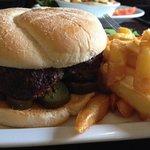 fresh made BH burger