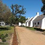 Vista de los cottages