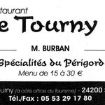 carte du Tourny