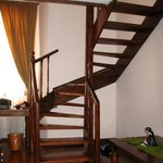 Staircase in room