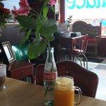 Delicious fresh-squeezed orange juice!