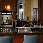 Vertex Sky Bar offers a large selection of fine wines