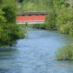 Covered Bridge over Row River