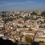 quartiere Albajcin visto dall'Alhambra