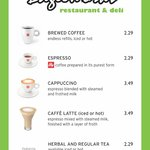 new coffee options