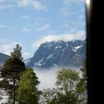 View of Ben Nevis from the bed!