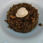 Segundo plato: arroz negro