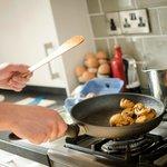 Enjoy your freshly prepared breakfast each morning