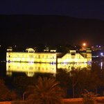 Jal Mahal by night from the room window!