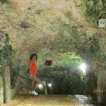 Ingresando al Cenote