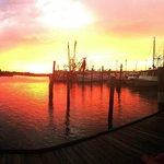 Sunset at D.J.'s Deck