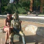 Estátua da Brigitte Bardot