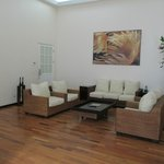 Sitting area, Gaia Suite