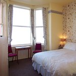 Ensuite double room with sea views