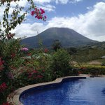 Gardens, Volcano, pool, swim up bar,life is good !