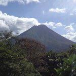 Arenal Volcano is everywhere, which is magnificent!