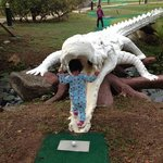Have fun with mini golf!