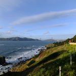 Golden Gate Bridge - the prize of the Lands End Trail.