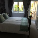 Large spacious sunny room with good view of gardens