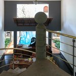 Reception from top of staircase