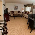 Living/parlor area Suite